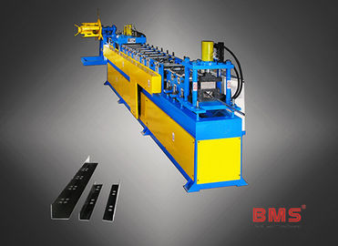 Custom Metal Stud And Track Roll Forming Machine, L Trim Cold Forming Machine