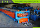 Double Floor Deck Roll Forming Machine , Plate Roll Forming Equipment