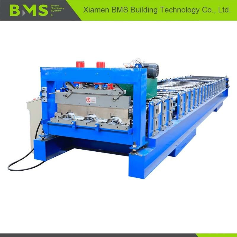 0.8-1.5mm Floor Deck Roll Forming Machine , Metal Building Material Roll Former