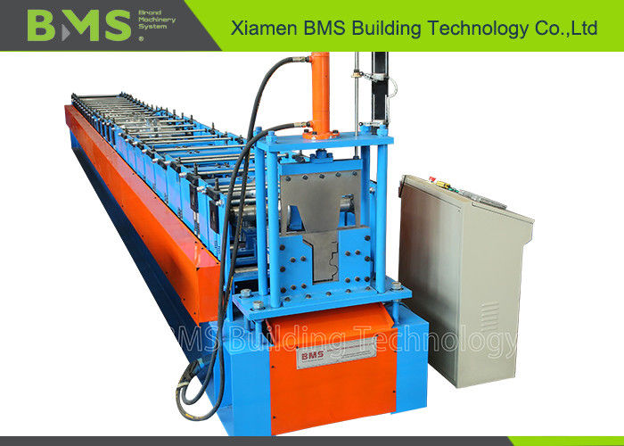 Australia Half Round Gutter Roll Forming Machine For Roofing , Low Noise